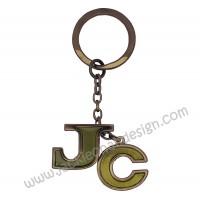 JC Metal Keyring