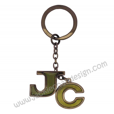 JC Metal Keyring
