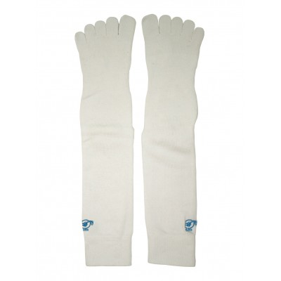 JC Acupunture Point Toe Socks - White