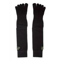 JC Acupuncture Point Toe Socks - Black