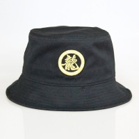 Fisherman Hat with golden yellow Dragon word logo