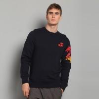 JC Design Red Dragons Blue Sweatshirt