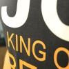 JC Design Black Color Short Sleeve Tee Shirt with JC King of Best slogan