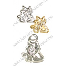 Dragon Logo Metallic Pendant and Stickers (Set A)