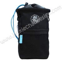 Action & Power Extra Large Powder Bag (Black & Baby Blue)