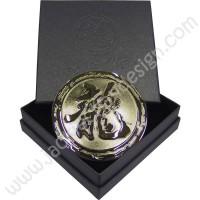 Dragon Logo Emblem (Circular with box)