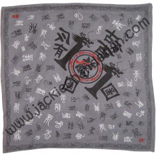 101 Dragons Bandanna (Grey)