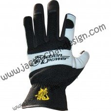 Action & Power Leather Gloves (2 Fingers Open)