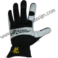 Action & Power Leather Gloves (Full Fingered)