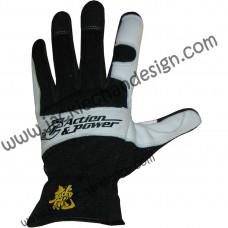 Action & Power Leather Gloves (Full Fingered)