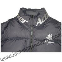 Dragon Logo Down Jacket (Black)