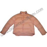 Dragon Logo Down Jacket (Pink)