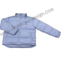 Dragon Logo Featherdown Jacket (Blue)