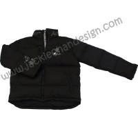 Dragon Logo Featherdown Jacket (Black)