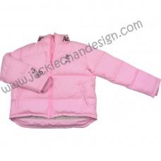 Dragon Logo Featherdown Jacket (Pink)
