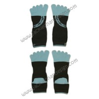 Ring of Fire Ankle Toe Socks
