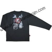 Dragon Philosophy & Tolerance Long Sleeve T-Shirt (Black)