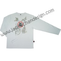 Dragon's Philosophy & Tolerance Long Sleeve T-Shirt (White)