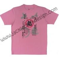 Dragon's Philosophy & Opera Mask T-Shirt (Pink)