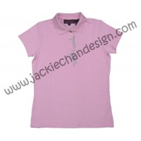 Stunt Polo Shirt for Ladies (Pink)