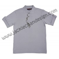 Stunt Polo Shirt for Men (Grey)