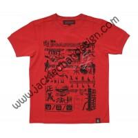 Martial Arts & Dance T-Shirt (Red)