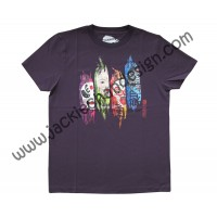 Journey to the West Opera Mask T-Shirt (Purple)