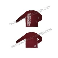 JC Design Long Sleeve T-Shirt (Burgundy)