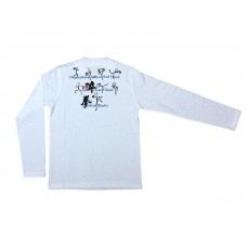Drunken Master Stick Figure Long Sleeve T-Shirt