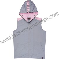 Stunt Sports Track Suit for Ladies (Grey & Pink)