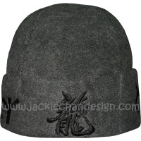 Action & Power Beanie (Charcoal)