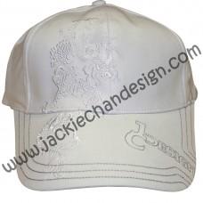 Dragon Design Cap (White)