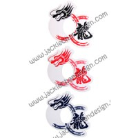 Dragon Logo Wine Markers