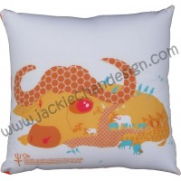 12 Zodiacs Cushion ~ Ox